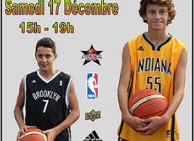 Fête de Noël du CSPertuis Basket avec Stand All Star Shop