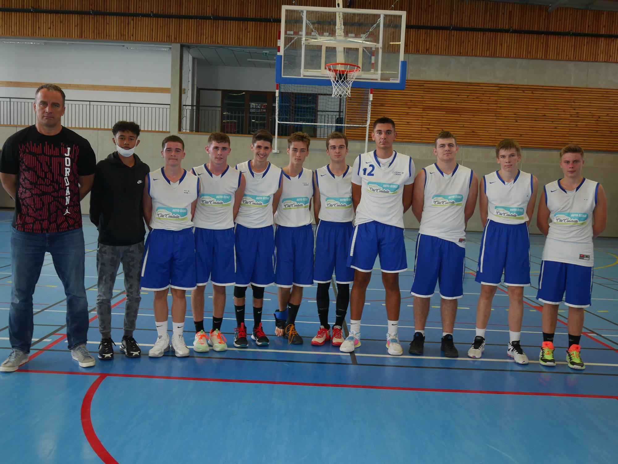 Cadets région basket